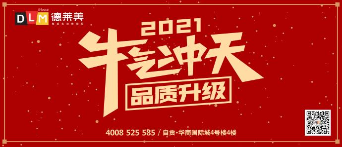 【德莱美】2021丨牛气冲天 品质升级